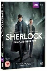 Sherlock - Series 2 - Complete (DVD, 2012, 2-Disc Set)
