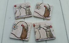Country Mouse Stone Coasters