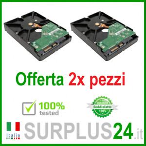 "2x Disque Dur 500GB SATA 3.5 "" Interne HDD Pour Ordinateur D'Occasion Garanti"
