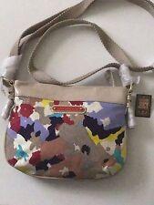 Juicy Couture Multi-Color Canvas Crossbody Shoulder Bag