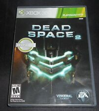 XBOX 360 DEAD SPACE 2 VIDEO GAME WITH ORIGINAL BOX + ARTWORK + BOOKLET