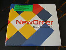 Slip Album: New Order : Live At Bestival 2012 : Sealed