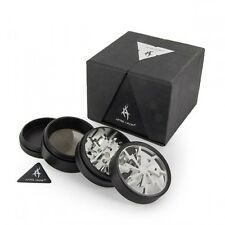 Thorinder-Aftergrow-Super-Sharp-Metal-Herb-Grinder-62m original in box silver