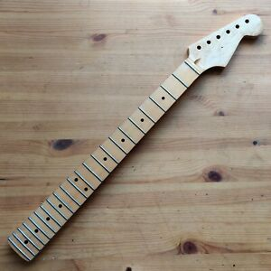 Used 90s Relic Maple Stratocaster Strat Style Neck Small Headstock 22 Fret