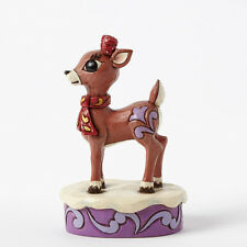 Jim Shore Clarice Personality Pose ~ Rudolph the Red-Nosed Reindeer 4041647