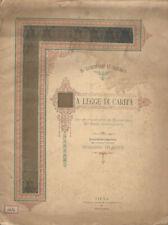 La legge di carità. Da un frammento in Pergamena del secolo decimoquarto. S. Tom