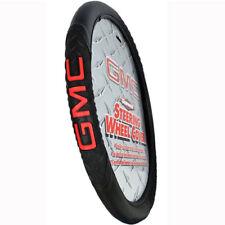 Brand New Official Licensed GMC Red Logo Car Truck Van Steering Wheel Cover