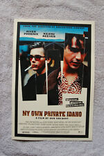 My own Private Idaho Lobby Card Movie Poster Keanu Reeves River Phoenix