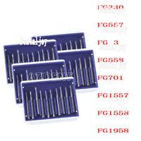 8 Types Dental Carbide Burs FG Pear-Shaped Type High Speed Tungsten Steel Bur