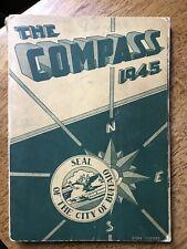 Kensington High School Compass Yearbook 1945 Buffalo Ny