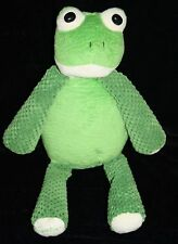 "Scentsy Buddy RIBBERT FROG 15"" Stuffed Animal Green Plush No Scent Pak Soft Toy"