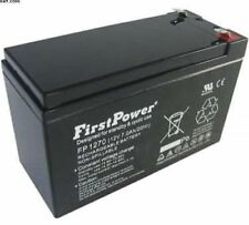 FirstPower 12 V Rechargeable Batteries 7 Ah Amp Hours