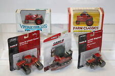 ERTL FARM CASE/IH & Farmall Tractors and Baler Lot of 5 NEW in Package Die-cast