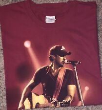 Luke Bryan That's My Kind of Night Tour 2014 Red T shirt Size: Xl