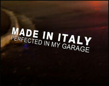 MADE IN ITALY JDM Decal vinyl sticker, Fiat Punto 500 Alfa Bravo
