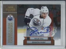 Taylor Hall 10/11 Playoff Contenders ROY Autograph #43/50