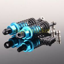 Aluminum Front Shock Absorber 580018 HSP RC 1/18 RK WLtoys A949-55 BLUE 65MM 2P