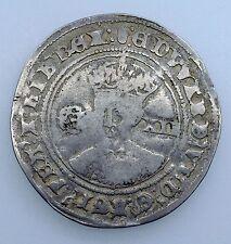 1551-53 KING EDWARD VI SILVER SHILLING COIN mm.TUN SPINK:2482