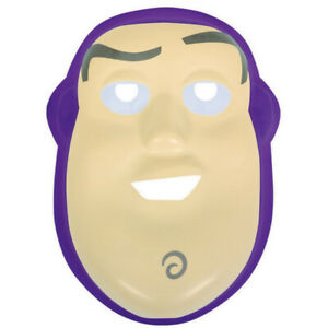 Toy Story Buzz Lightyear Plastic Vac Form Mask Party Favour Costume