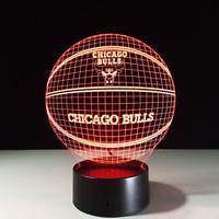 Chicago Bulls Michael Jordan Last Dance LED Lamp Home Decor Gift Collectible