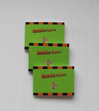 Geocaching Logbuch micro,80 Seiten, 3 Stück, Logbücher