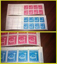 Vaticano 1967 III congr univ apost Laici 2 testate di foglio francobolli NUOVI