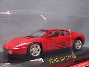 Ferrari Collection 348 TB 1/43 Scale Box Mini Car Display Diecast vol 104