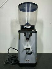 Anfim super caimano on-demand espresso grinder silver used