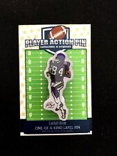 Minnesota Vikings Randy Moss jersey lapel pin-Limited Edition-Welcome 2 the HOF!