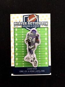 Minnesota Vikings Randy Moss jersey lapel pin-Classic Collectible-aka FREAK