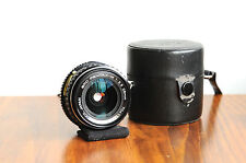 PENTAX ASAHI SMC PENTAX-M 28mm  f/3.5   Wide Angle Lens      w/ leather case