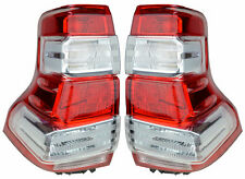 Pair Tail Lights Toyota Landcruiser Prado 14-15 New 150 series 2 Rear Lamps LED