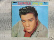 ELVIS PRESLEY 33 TOURS FRANCE LOVING YOU