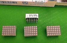 """Led Display TC07-11EWA Red 0.7"""" Dot Matrix Leds Kingbright Column Cathode x 1pc"""