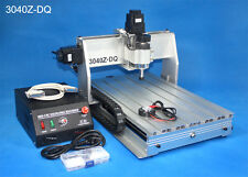 NEW 3040Z-DQ Mach3 300W CNC Router Engraving Cutting Milling Machine Desktop Kit