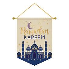 Amscan Eid Ramadan Kareem Canvas Banners 28cm x 38cm