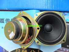 "1pcs 4""inch 8Ω 8ohm 15W full-range speaker HIFI Loudspeakers For Portable audio"
