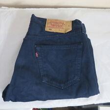 Levis Jeans 501 caballeros azul w36 l30 uni straight-cut-Jeans
