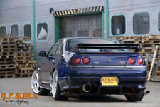 Carbon Aero Lado Desviadores para Nissan Skyline R34 Drift rendimiento Racing v8