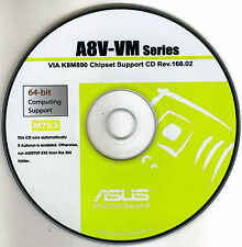 ASUS A8V-VM Motherboard Drivers Install  M763