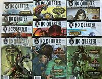 Lot of 10 NO QUARTER Magazines From Privateer Press Issues 2-4,6,10-12 & 14-16
