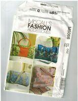 McCalls 5066 Pattern for handbags purses wallet totes Uncut FF