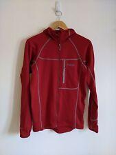 Rab Baseline Jacket - Hoody Fleece Wicking Midlayer / Small / Red / Great Cond!