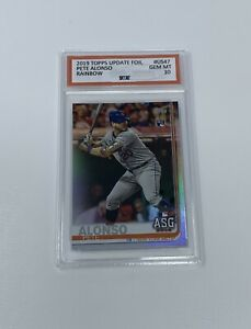 2019 Topps Update Pete Alonso Rainbow Foil Rookie #US-47 TUC GEM MT 10! NY Mets