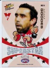 2009 Select Mascot Superstar Gem Card  - Adam Goodes