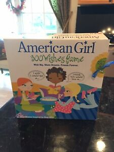 American Girl 300 Wishes Game 2005 Mattel New