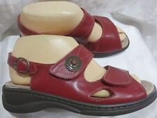 Hook and Loop Fasteners Slingbacks Medium (B, M) Sandals & Flip Flops for Women