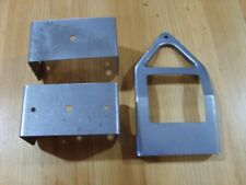 press steel toys - REPLACEMENT Tonka  axle brackets and tongue for pup trailer