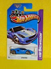 2013 Hot Wheels Showroom #171 Lotus M250 - Rich Lotus Blue