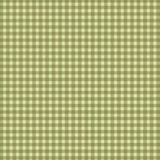WELCOME HOME Flannel Quilt Fabric Green Gingham sold by 1/2 Yard Maywood Studio